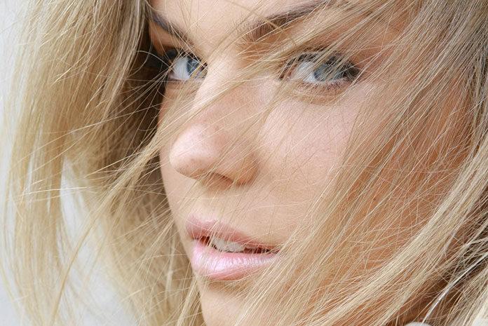 Wiosenny makijaż dla blondynki