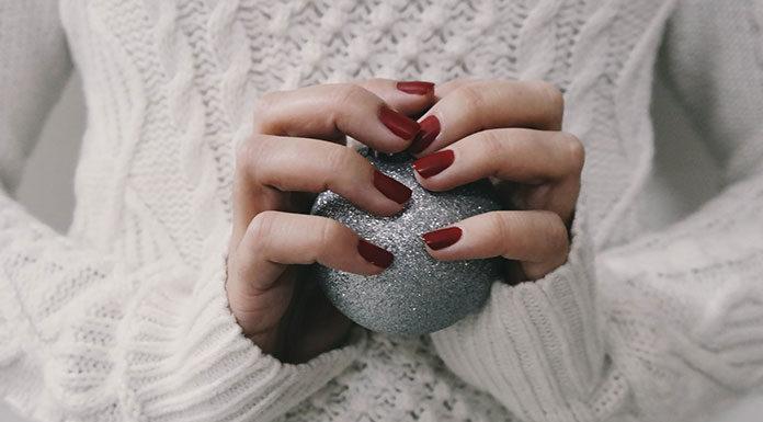 Zdobienia sweterkowe, czyli jesień na paznokciach